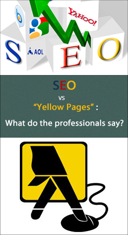 SEO versus Yellowpages